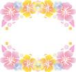 Hibiscus   Card  Material Illustration