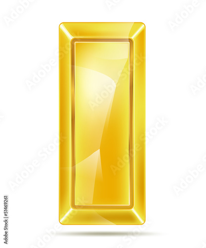 golden bar with reflections