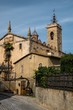 Sant Feliu church in Alella town, Spain