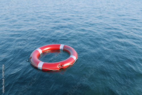 Lifesavers in the sea