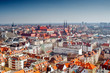 panorama view of Wroclaw
