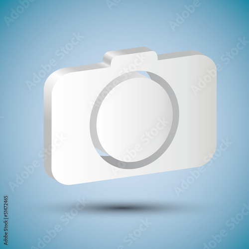 shiny camera icon