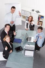 erfolgreiche teambesprechung