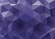 abstract rumpled triangular background, low poly style