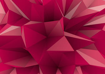abstract triangular crystalline background, low poly style
