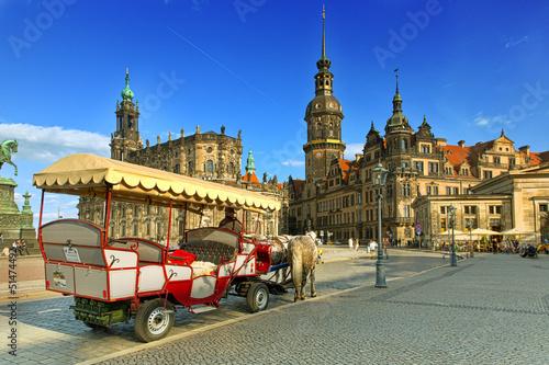 Dresden Theaterplatz HDR