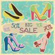 Poster of women shoes on sale