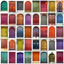 portes et portails collage