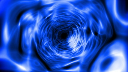 Abstract blue tunnel (seamless loop)