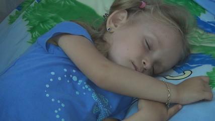 Sleeping Child, Sleeping Little Girl, Children