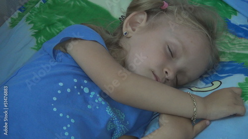 Sleeping Child, Sleeping Little Girl, Children