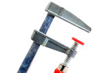 Joiner Clamp isolated on a white background poster