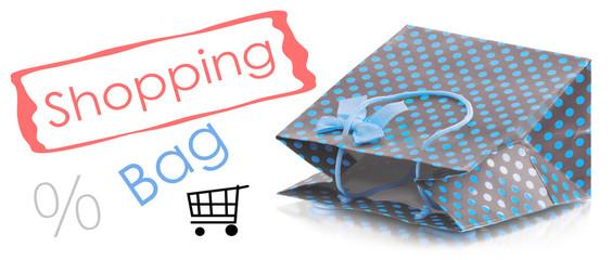 Beatiful shopping bag