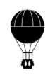 Hot air balloon icon - 51478440