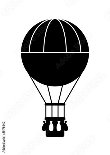 Hot air balloon icon - 51478440