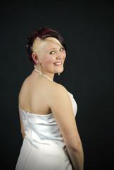 Verführerische junge Braut