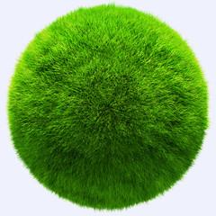3D grass ball