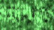 Digital Green Waterfall Looping Animated Background