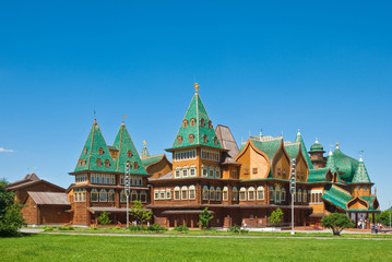 The wooden palace in Kolomenskoye, Moscow