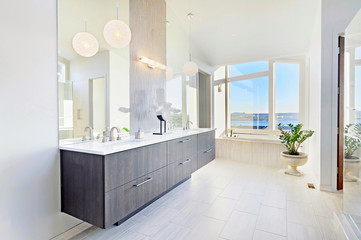 Bathroom in Luxury Home