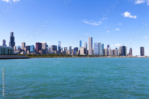 Chicago Skyline Panorama