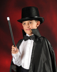Stunning Young Magician
