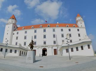 Panoramic view of Bratislava castle