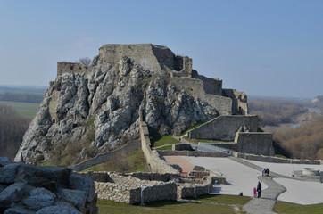 Ruins of Devìn Castle - Slovakia