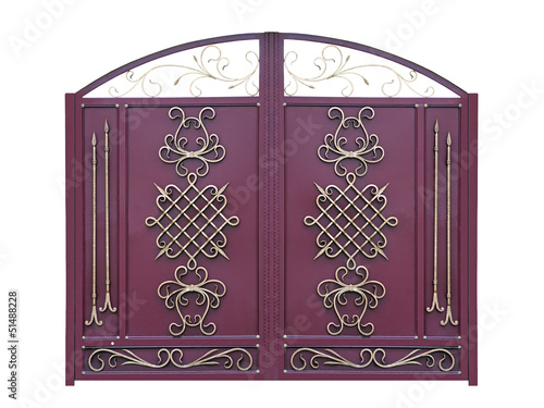 Decorative Gates in Old-time stiletto