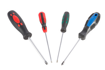 a set of screwdrivers