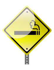 smoking ahead