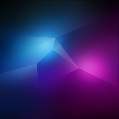 Spiky Blue and Pink Background