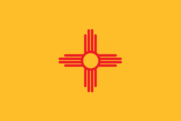 Flag of the American State of New Mexico