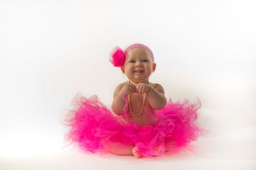 Baby Ballerina Strikes a Precious Pose