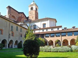 Novara quadriportico della Canonica color image