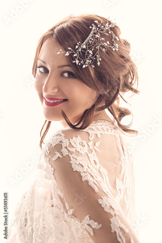 Beautiful Bride Smiling