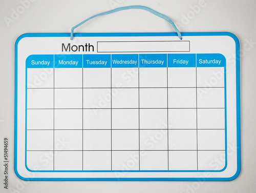 Monthly Planner Board