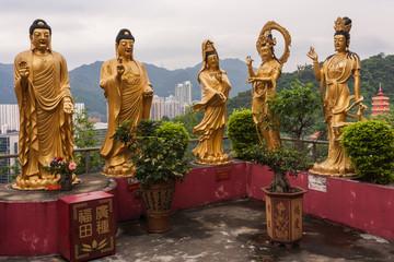 Buddhist temple in Sha Tin