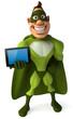 Green superhero
