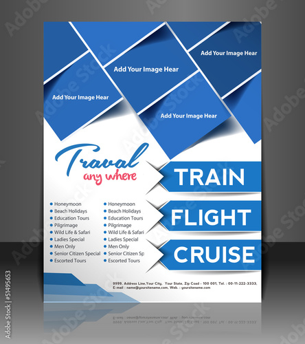 traval Poster/flyer design