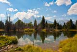 Teton Reflection in Grand Teton National Park,USA