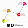 Modern Ribon Workflow Options Banner - Vector Illustration - Inf