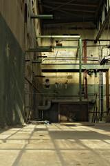 Alte Fabrikhalle innen