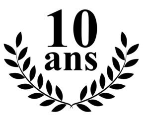 Lauriers 10 ans