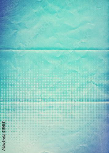 blue paper pattern