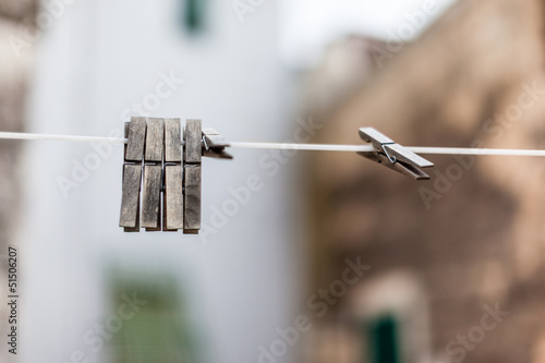 Old pegs
