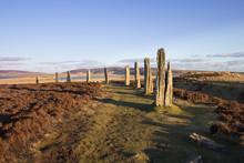 Ring Of Brodgar, Orkney, en Ecosse