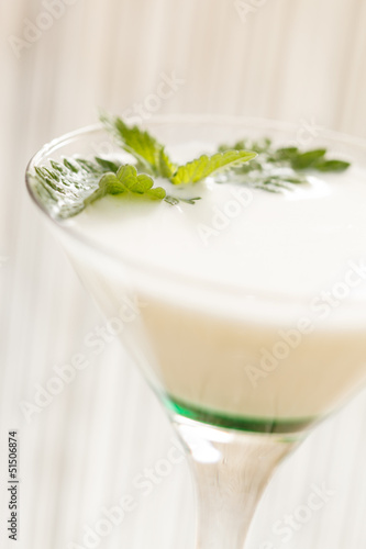 milk cocktail
