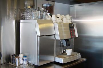 Kaffeemaschine im Büro