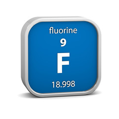 Fluorine material sign